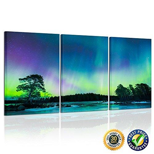 Creative Art - Northern Lights Canvas Prints Contemporary Ar