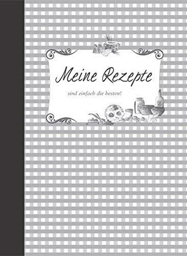 Meine Rezepte – schiefer Gebundenes Buch – 14. März 2018 Edition XXL 3897360381 Allg. Kochbücher Grundkochbücher