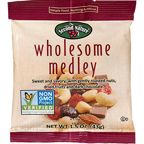Second Nature Wholesome Medley Nuts Snack Mix 1.5 Oz 16 Counts by SecondNature (Image #2)