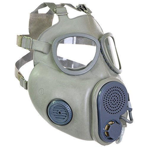 Gas Máscara NVA F. offiziere Protección Máscara M 10 Campana Halloween goma Artículo ABC: Amazon.es: Ropa y accesorios