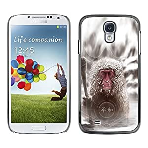 YOYO Slim PC / Aluminium Case Cover Armor Shell Portection //Cool Japanese Snow Monkey //Samsung Galaxy S4