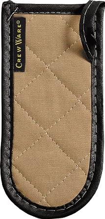 "San Jamar 804BG BestGuard Cotton Handle Holder, 6-1/2"" Length x 3-1/4"" Width, Tan (Pack of 12)"