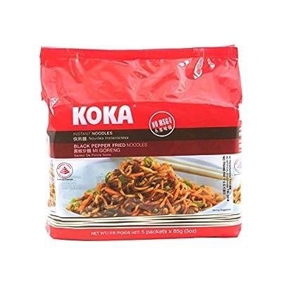 Koka, Instant Noodles, Black Pepper Fried Noodles, Mi Goreng, 425 g [Pack of 1 piece]: Everything Else
