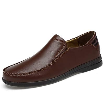 ccd8e7e346d6fd SHENNANJI Chaussures habillées Mode pour Hommes Oxford Casual Confortables  et légères (Color : Marron,