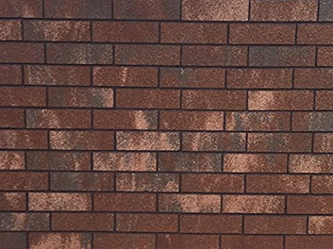 Thin Brick Veneer - Thin flexible brickveneer- Faux brick wall - Faux brick panels - Case of 43.05 - Faux Stone Siding
