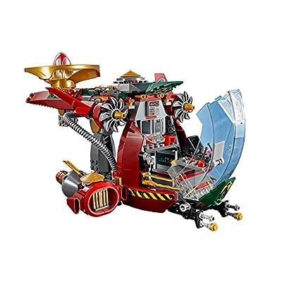 LEGO Ninjago 70735 Ronin R.E.X. Ninja Building Kit: Toys & Games