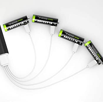 Blackube Lithium 1500mAh AA Rechargeable Batteries
