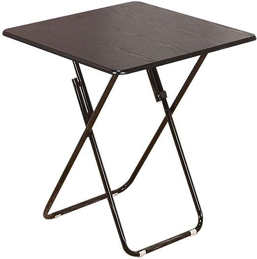 Mesa plegable Leqi Mesa plegable simple Mesa de comedor cuadrada ...