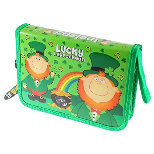 Lucky Leprechaun Pencil Case - Stationery Included