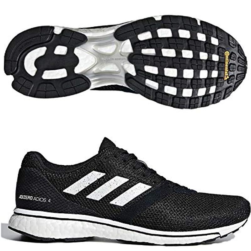 adidas(아디다스) 레이디스 런닝 슈즈 24.5㎝ 아디 제로 재팬 4 adizero Japan 4 국내 정규품 B37377 블랙