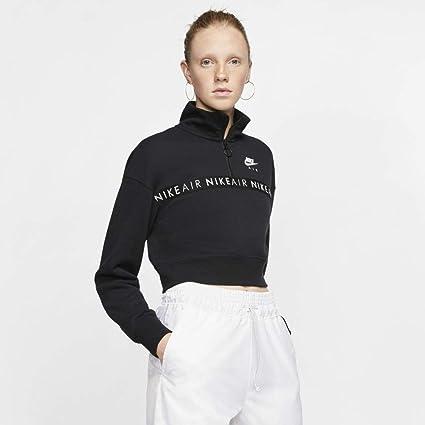 NIKE Felpa Donna Sportswear Rally Hoodie Taglia: Xxxl Colore: Nero