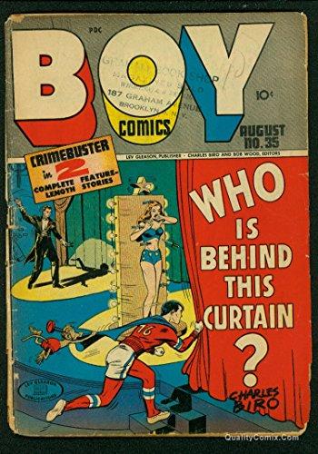 Boy Comics #35 FA/GD 1.5