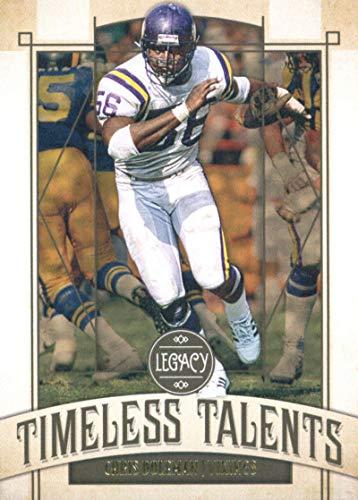 - 2019 Panini Legacy Timeless Talents #CD Chris Doleman Minnesota Vikings Football Card