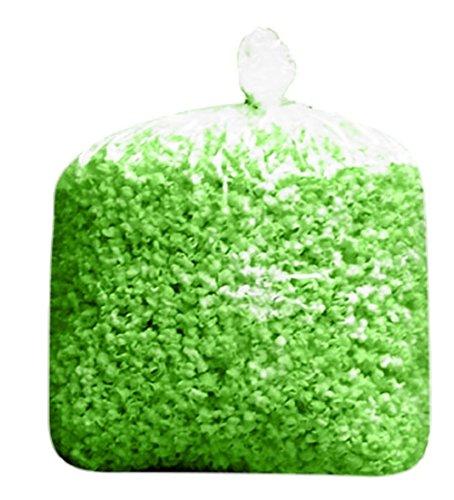 Popcorn Green (Bulk Large Green St Patricks Day Mardi Gras Birthday Colored Popcorn Bulk Party Bag (175 Cups per Case) (Green))