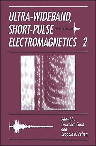 Ultra-Wideband, Short-Pulse Electromagnetics 2 (No. 2)