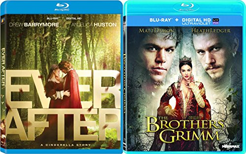 The Brothers Grimm & Ever After (Blu-ray) Modern Fairy Tale set