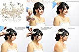 Bridal Hair Comb-Ivory Pearl Wedding Hair