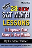 28 New SAT Math Lessons to Improve Your Score in
