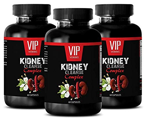 Metabolism Booster Pills - Kidney Cleanse Complex - antioxidant Complex - 3 Bottles (180 Capsules) by VIP VITAMINS (Image #7)