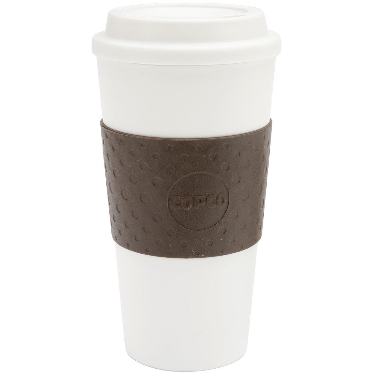 Copco 16-Ounce Capacity Acadia Reusable To Go Mug, Blue 2510-9966B