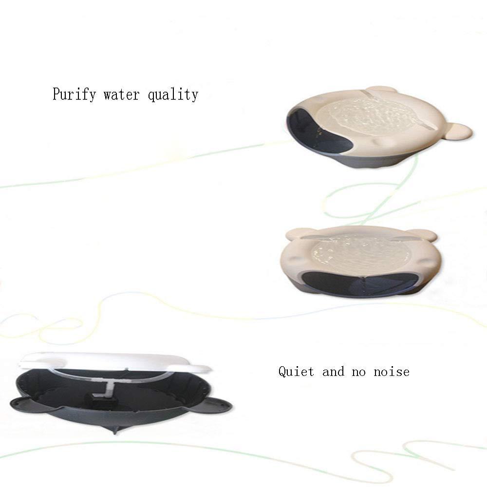 Fuente de Agua para Mascotas Filtración de Ciclo automático ...