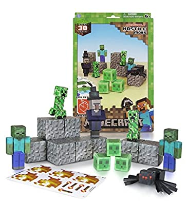 Minecraft Papercraft Hostile Mobs Set Over 30 Piece New Free Shipping