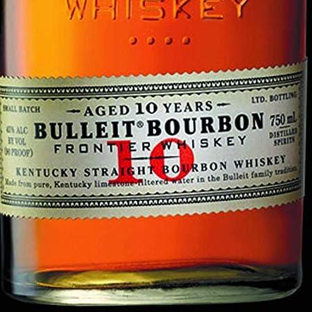 Bulleit 10 Bourbon Whisky de Kentucky - 700 ml