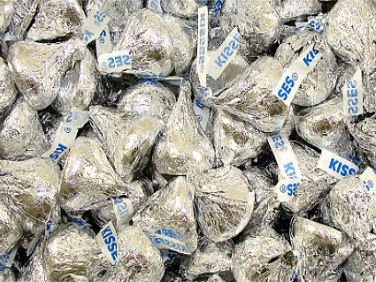 Hershey Silver Kisses 5 (Hershey Kisses In Bulk)