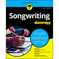 Songwriting For Dummies (For Dummies (Music)) book cover