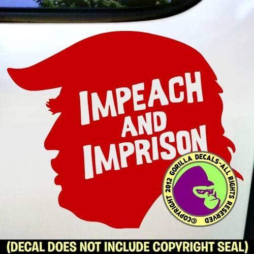 IMPEACH Bumper Sticker Decal