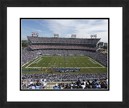 Tennessee Titans Lp Field - NFL Tennessee Titans LP Field, Beautifully Framed and Double Matted, 18