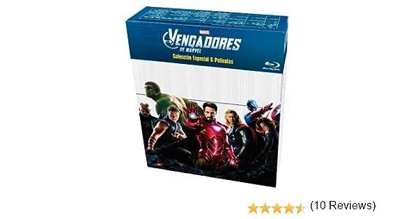 Los Vengadores: Colección 6 películas [Blu-ray]: Amazon.es: Samuel ...