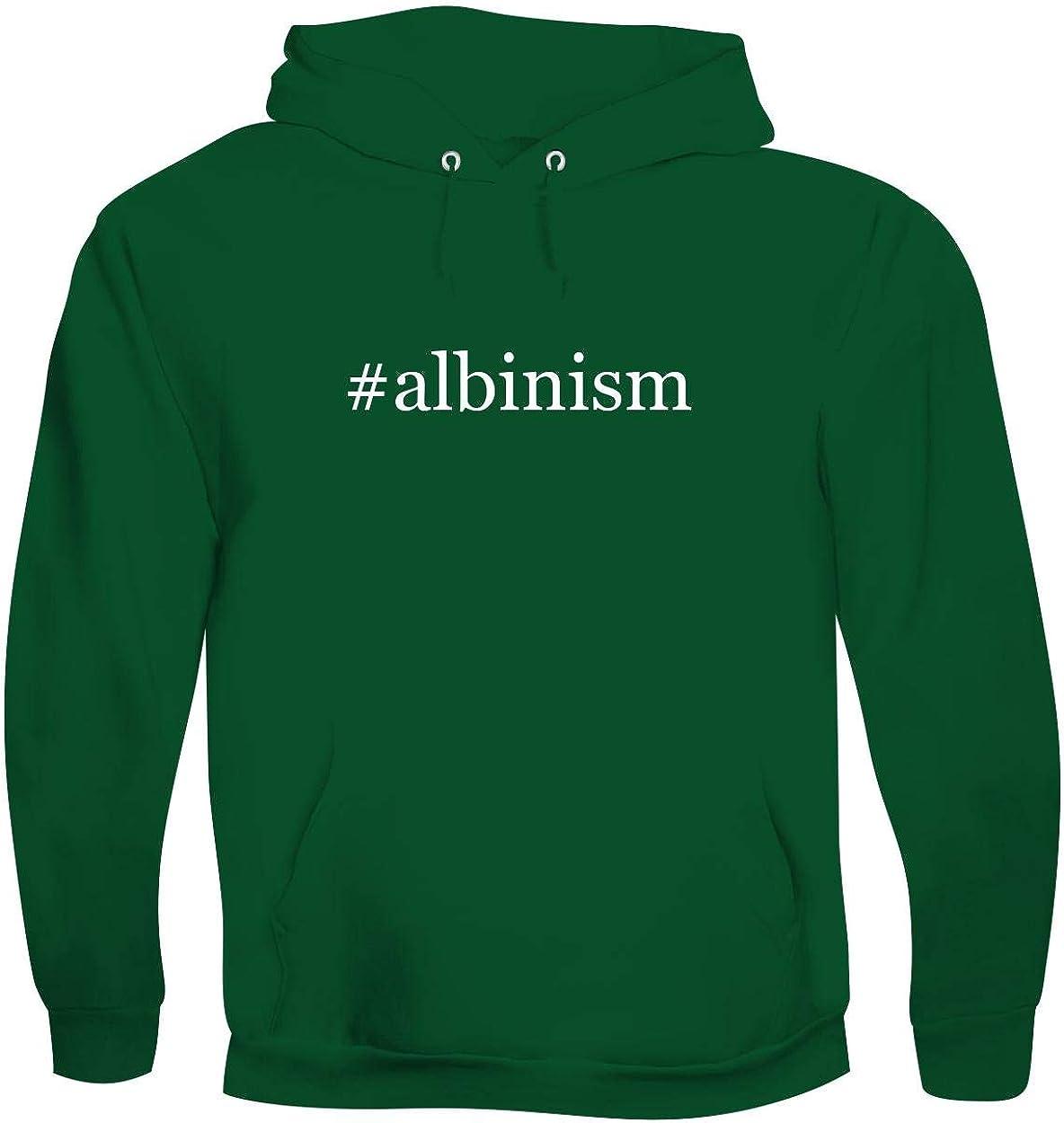 #Albinism - Men'S Hashtag Soft & Comfortable Hoodie Sweatshirt Pullover