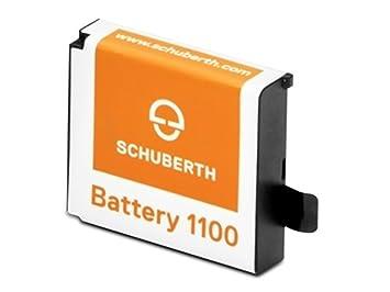 Schuberth batería 1100/batería para SC1 estándar 3.7 V 1100 mAh