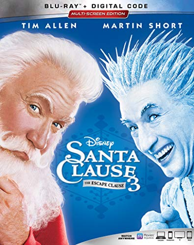 SANTA CLAUSE 3, THE: THE ESCAPE CLAUSE [Blu-ray] (Newsies Ray Blu)