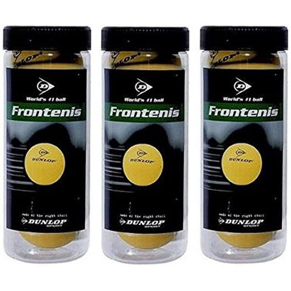 ANDsport Pelotas de Frontenis Dunlop Pack 3x3 Bolas: Amazon.es ...