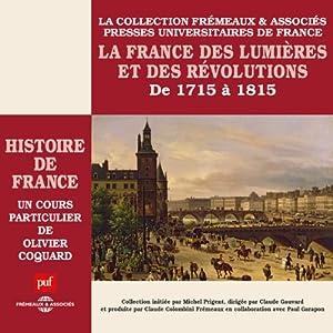 La France des Lumières et des Révolutions (Histoire de France 5) Speech