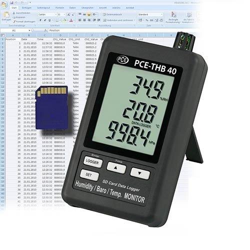PCE Instruments Hygrometer PCE-THB 40