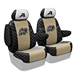 Coverking Custom Fit Center 50/50 Bucket NCAA Licensed Seat Cover for Select Nissan Quest Models - Neosupreme (U.S. Military Academy)