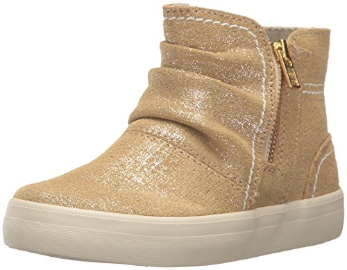SPERRY Girls' Crest Zone Ankle Boot Gold/Metallic 13