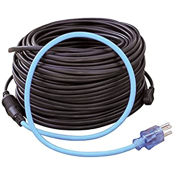 prime wire cable rhc600w120 roof gutter de icing kit roof rh amazon com heating cable wiring Cable Wiring Installation