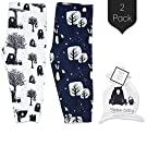 Kaydee Baby Organic Cotton Leggings (Bear and Fox) - Set of 2 (3-6 Months)
