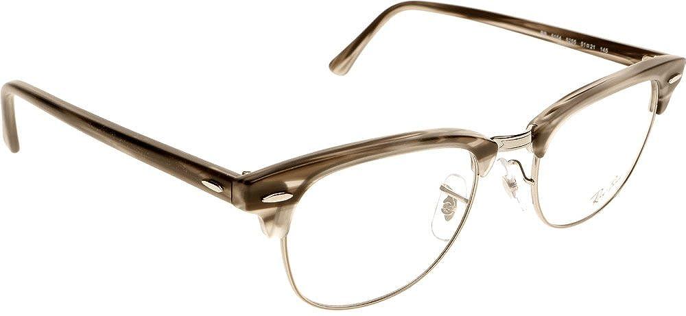 Amazon.com  Ray-Ban RX5154 Clubmaster Eyeglasses-5255 Gray-49mm  Shoes 0f6961cc5e