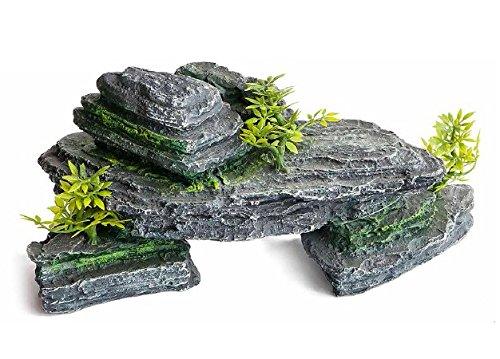 Roccia arredo per acquario o terrario ideale anche come for Terrario per tartarughe acquatiche