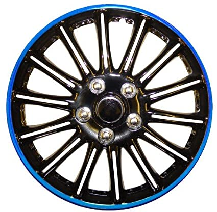 Peugeot 206 14 - Potenciador de (Negro con Azul de rayas Car ...