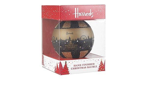 Harrods con acabado a mano, cristal, árbol de Navidad ...