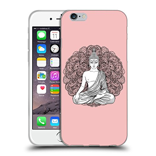 GoGoMobile Coque de Protection TPU Silicone Case pour // Q07710610 Bouddha 7 Bébé rose // Apple iPhone 6 4.7""