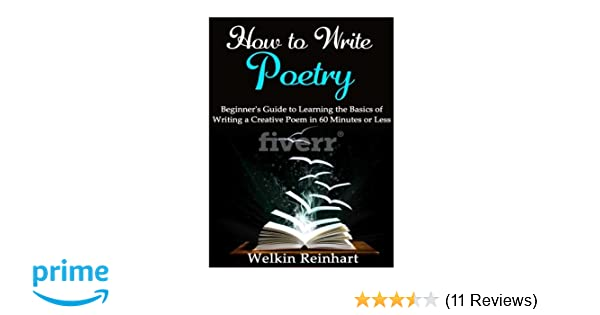 basics of poetry writing