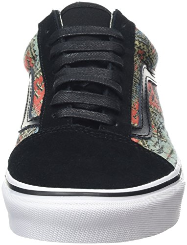 Skool Ankle Geo Moroccan Vans Shoe High paprika Skateboarding Black Old Inq5nw6g