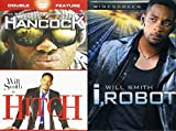 The I-Make-This-Look-Good Will Smith 3-Pack - I, Robot, Hancock, & Hitch Bundle